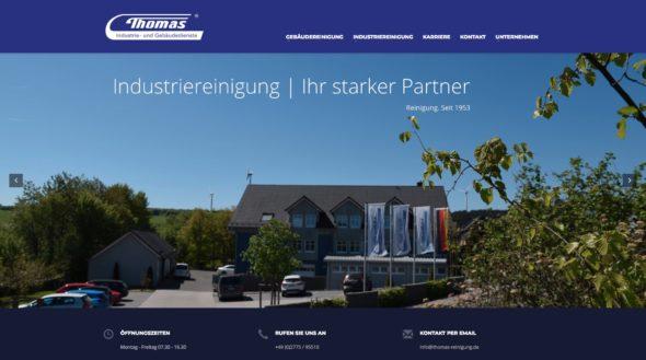 thomas industrie- und gebäudedienste, web